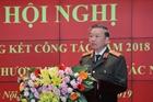 Bộ trưởng Tô Lâm dự hội nghị triển khai công tác năm 2019 Cục Tổ chức cán bộ