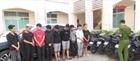 Bắt giữ nhóm thanh thiếu niên trộm cắp nhiều xe máy