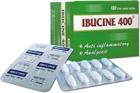 Thu hồi thuốc Ibucine 400 không đạt tiêu chuẩn chất lượng