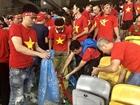 Hình ảnh đẹp về CĐV của đội tuyển U22 Việt Nam