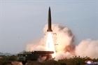 Triều Tiên bắn các vật thể chưa xác định vào biển Nhật Bản