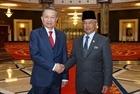 Bộ trưởng Tô Lâm yết kiến Quốc vương Malaysia và hội đàm với Bộ trưởng Bộ Nội vụ