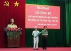 Công bố các quyết định về công tác cán bộ Công an tỉnh Bình Định