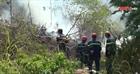 Cơ bản khống chế vụ cháy rừng tại núi Hầm Vàng