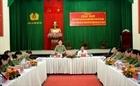 Thứ trưởng Nguyễn Văn Sơn dự hội nghị giao ban Công an các tỉnh Tây Nam Bộ