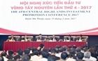 Hội nghị xúc tiến đầu tư khu vực Tây Nguyên lần thứ 4 năm 2017