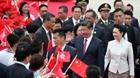 Chủ tịch Tập Cận Bình đến Hong Kong