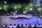 Bộ trưởng Tô Lâm dự Lễ tổng duyệt chương trình biểu diễn nghệ thuật tại phố đi bộ Hồ Gươm