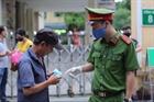 Xử phạt người không đeo khẩu trang nơi công cộng