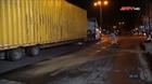 Tai nạn giao thông giữa xe container và xe đầu kéo