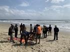 2 người bị sóng cuốn mất tích tại biển Mỹ Khê