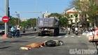 Va chạm xe đầu kéo, 1 phụ nữ bị cán tử vong