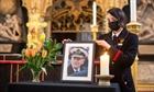 Người Anh mặc niệm trong ngày tang lễ Hoàng thân Philip