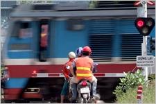 Gác chắn tự động giúp kiềm chế tai nạn đường sắt