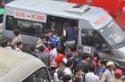 Các bến xe Hà Nội tăng cường 500 lượt xe dịp 30.4