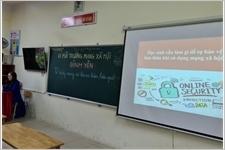 Mô hình hay dạy học sinh kỹ năng bảo vệ bản thân trên không gian mạng