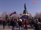Ngập tràn cờ Nga tại Crimea