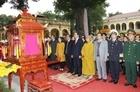 Lễ dâng hương tưởng nhớ các bậc tiên đế, tiên hiền tại Hoàng thành Thăng Long