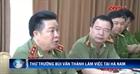 Thứ trưởng Bùi Văn Thành làm việc tại Hà Nam