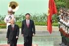 Lễ đón cấp Nhà nước Tổng bí thư, Chủ tịch Trung Quốc Tập Cận Bình