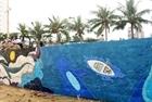Đà Nẵng trang trí tranh gốm cho bờ kè biển