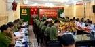 Thứ trưởng Nguyễn Văn Thành làm việc tại Công an tỉnh Phú Thọ