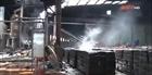 Cháy nhà máy chế biển mủ cao su tại Bình Phước