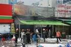 Cháy quán lẩu vịt ở Hoàng Mai, 1 người chết