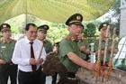 Thứ trưởng Nguyễn Văn Thành viếng Nghĩa trang liệt sỹ CAND