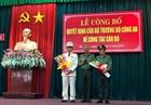 Công bố quyết định bổ nhiệm Giám đốc Công an thành phố Đà Nẵng