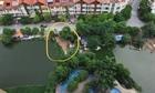 Cần xử lý dứt điểm tình trạng san lấp lấn chiếm hồ Ngòi, Hà Nội