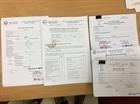 Làm giả giấy khám sức khỏe siêu tinh vi