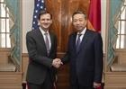 Bộ trưởng Tô Lâm hội đàm với Thứ trưởng Bộ Ngoại giao Hoa Kỳ David Hale