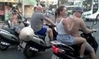 Xử lí người nước ngoài vi phạm giao thông