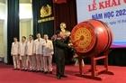 Thứ trưởng Bùi Văn Nam dự khai giảng tại trường Đại học Phòng cháy, chữa cháy