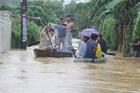Mưa lớn, nhiều trường học ở Bình Định tạm nghỉ