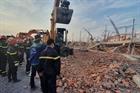 Bắt khẩn cấp 4 người trong vụ công trình xây dựng đổ sập khiến 10 người tử vong