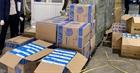 Bắt vụ vận chuyển hơn 800.000 khẩu trang không rõ nguồn gốc
