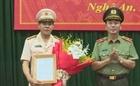 Công bố quyết định về công tác cán bộ tại Công an tỉnh Nghệ An
