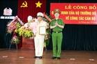 Công bố quyết định về công tác cán bộ Công an tỉnh An Giang