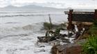 Bờ biển Cửa Đại bị sạt lở nghiêm trọng