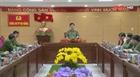Thứ trưởng Nguyễn Văn Sơn làm việc tại Công an TP Đà Nẵng