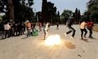 Đụng độ giữa cảnh sát Israel và người Palestine sau lệnh ngừng bắn
