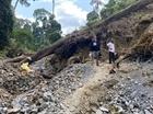 Quảng Nam đánh sập 75 hầm vàng trái phép tại Sông Thanh