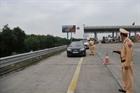 Kiểm tra vi phạm nồng độ cồn trên tuyến cao tốc