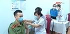 Tiêm vacxin Covid-19 cho CBCS Công an TP Hà Nội