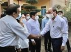 Chủ tịch nước Nguyễn Xuân Phúc tiếp xúc cử tri vận động bầu cử tại TP.HCM