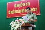 Thứ trưởng Lê Tấn Tới tiếp xúc cử tri huyện Đức Huệ Long An