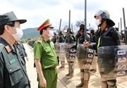 Trung đoàn CSCĐ Thủ đô bế giảng khóa huấn luyện tân binh