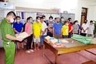 Hà Giang: 14 đối tượng bị tạm giữ vì đánh bạc